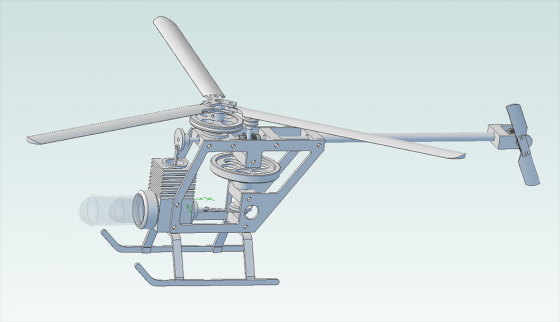CAD Helicopter