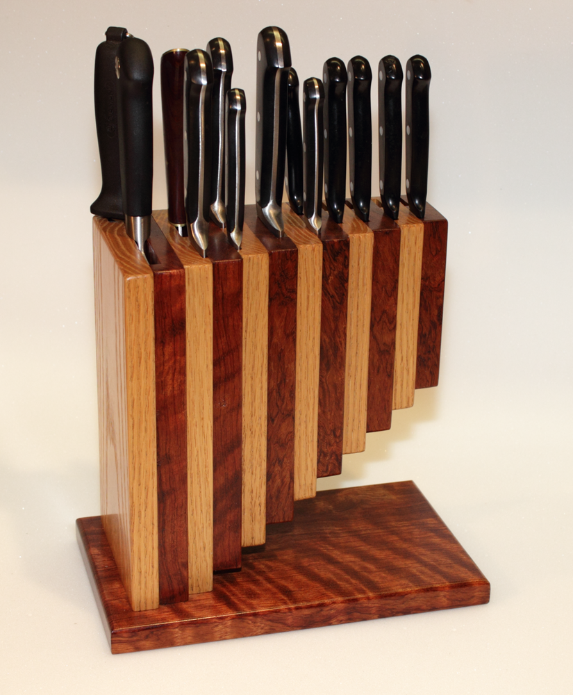 Knife Block The Art And Craftsmanship Of Zeamon