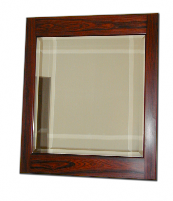 Mirror in Cocobolo Frame