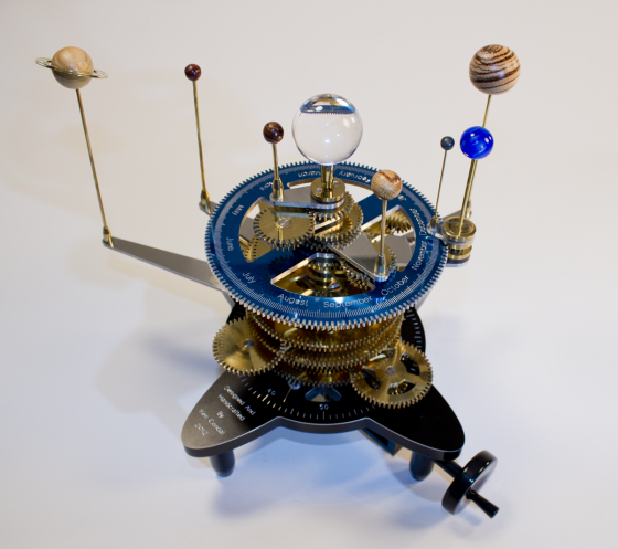 The Art And Craftsmanship Of Zeamon Building An Orrery