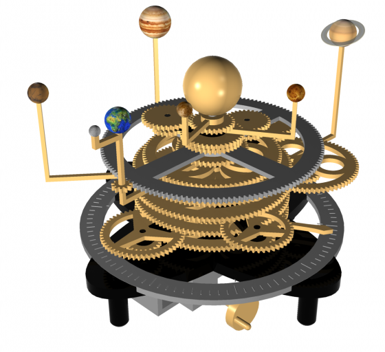 Orrery Concept Model