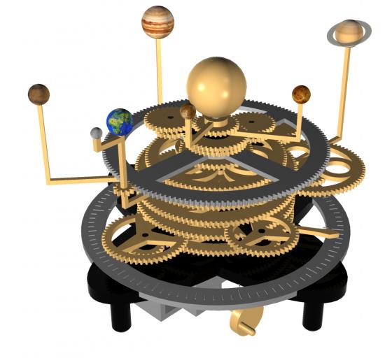 Orrery Concept Model